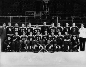 1950-51 - OHA Jr. C Champs - Cwood Greenshirts