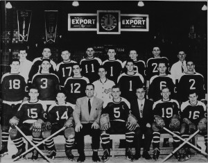 1951-52 - OHA Jr. C Champs - Cwood Greenshirts