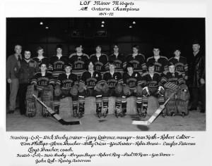 1971-72 OHA Midget Champs