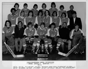 1973-74 OHA Juvenile A Champs
